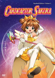 CARDCAPTOR SAKURA Standard Edition Volume 2 (DVD)