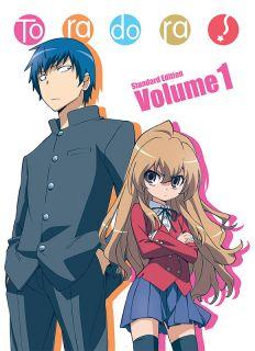Toradora! Standard Edition Volume 1 (Blu-ray/DVD combo)