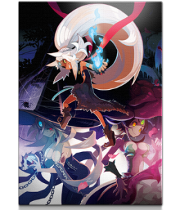 """The Witch and the Hundred Knight™ 2 - """"Witches of Kevala"""" Giclee"""